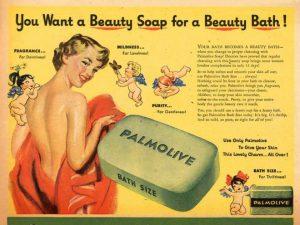 reklama mydła stary plakat